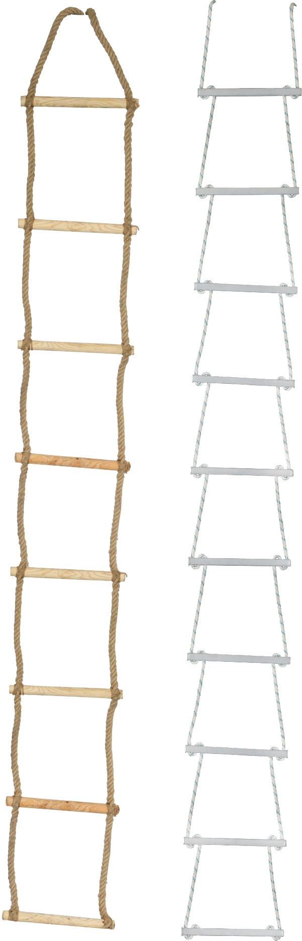 Rope and Wire Rope Ladders